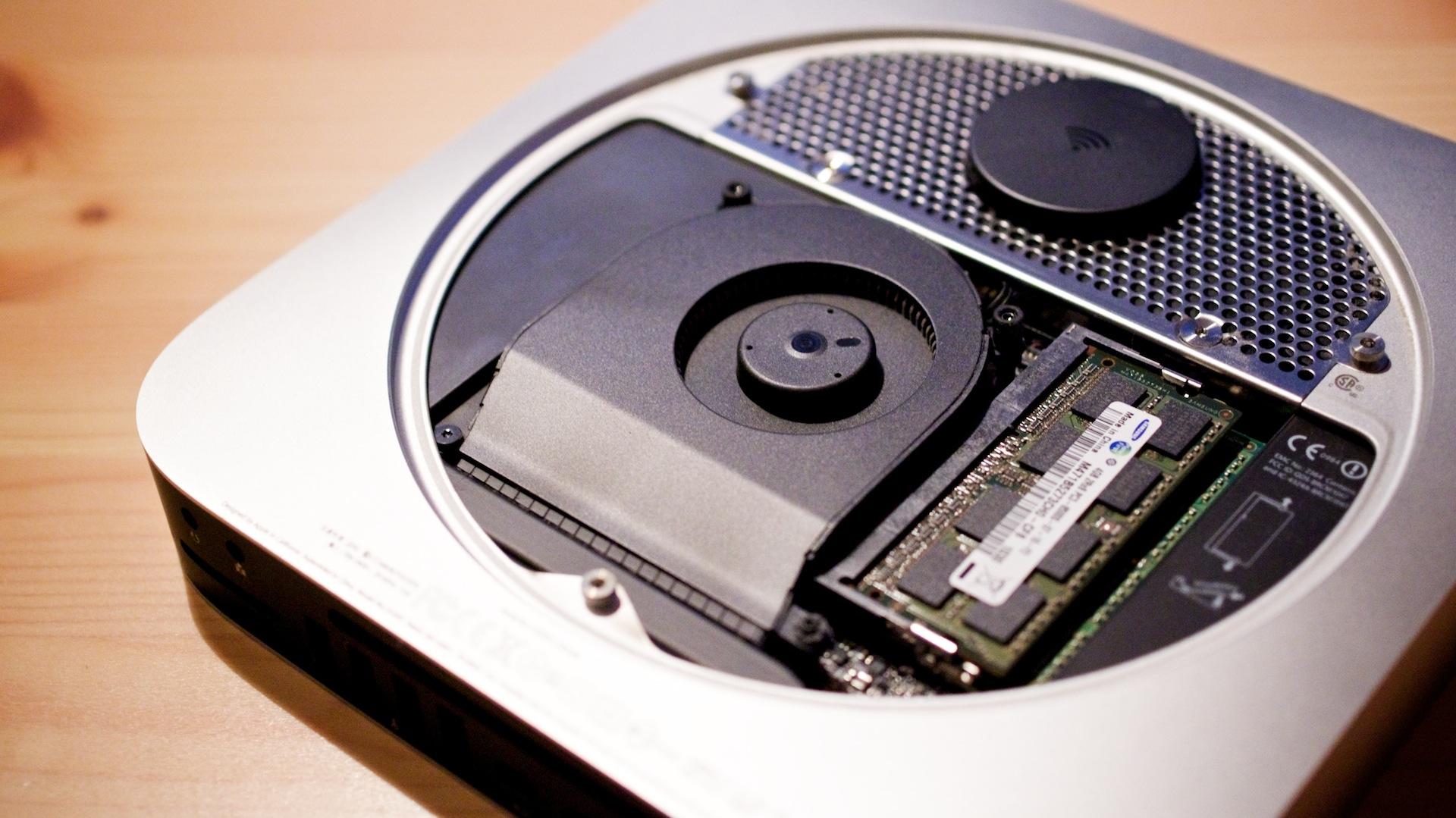 Plextor M5S SSD in Macmini2010 1120