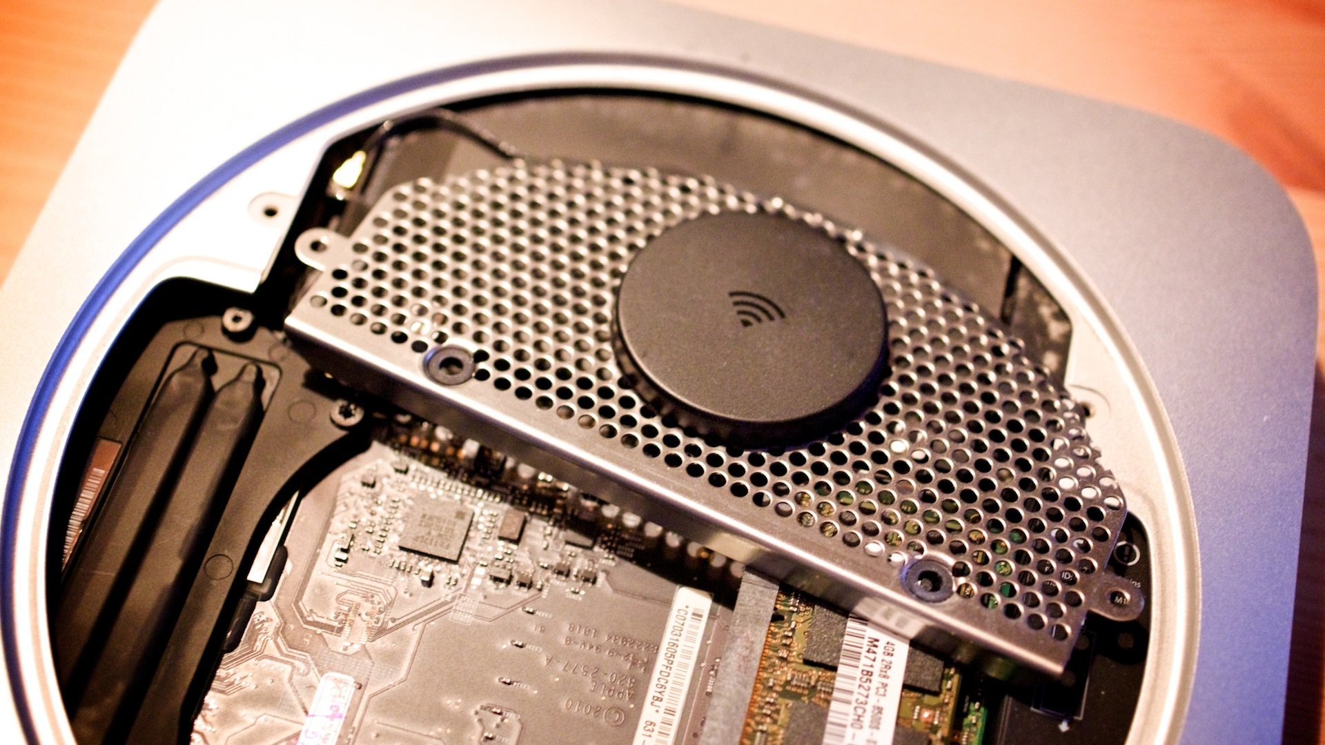 Plextor M5S SSD in Macmini2010 1138