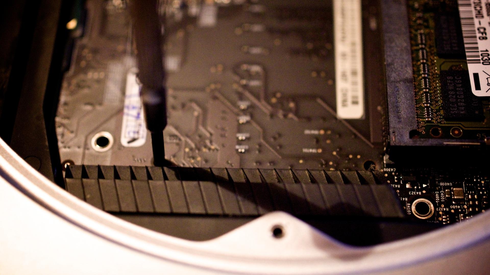 Plextor M5S SSD in Macmini2010 1152